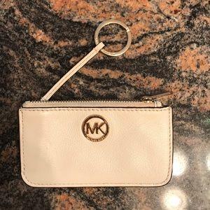 Michael Kors coin purse keychain